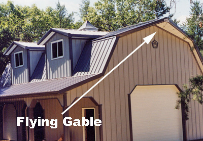 Flying Gable Roofs