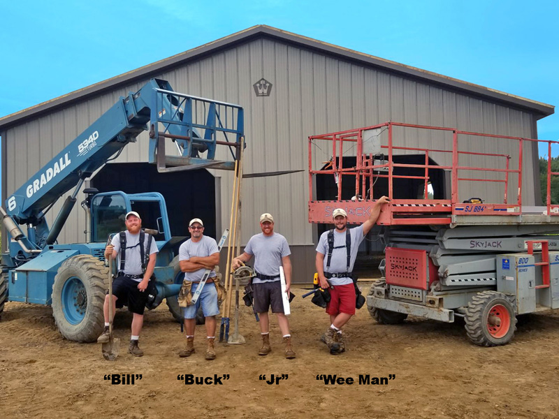 Buck and Bossman Group Construction