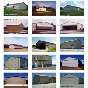 Airplane Hangar Metal Building Builder Michigan 1