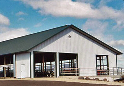 Freestall Pole Building - Dairy, Livestock