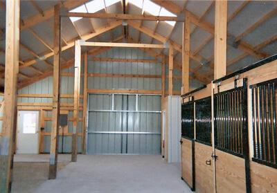 Horse Barns MI, Horse Barn Builders, Steel, Metal, Prefab