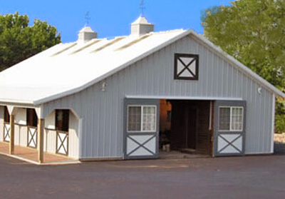 Horse Barn with Storage