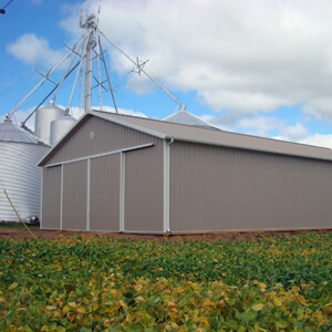 Metal Building Agricultural Farm Storage Mi 1