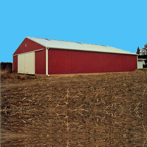 Metal Storage Barn Farm Equipment Mi 1