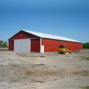 Metal Storage Building Prefab Mi 1