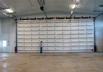 One of the Largest Overhead Doors You Can Buy