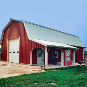 Pole Barn Metal Building Residential Michigan 1