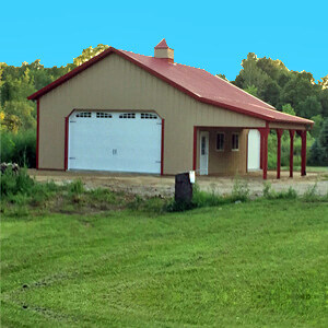 Pole Barn Metal Prefab Residential Mi 2