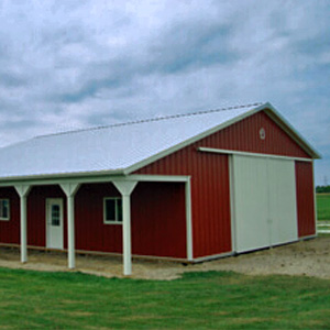 Pole Barn Residential Home Mi 1
