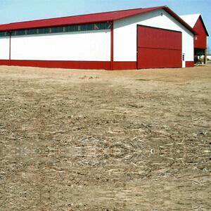 Pole Barn Steel Farm Machine Storage Mi 1