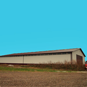 Pole Building Metal Large Farm Storage Mi 1