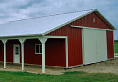 Residential Steel Pole Barn