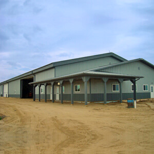 Steel Building Farm Machine Shop Mi 1