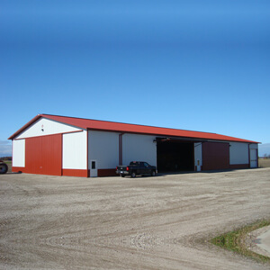 Steel Building Machine Storage Large Prefab Mi 1